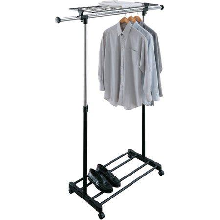 Rolling Garment Rack by Rolling Adjustable Garment Rack Walmart