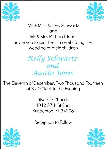wedding invitation wording reception to follow at same location diy wedding invitations the maven