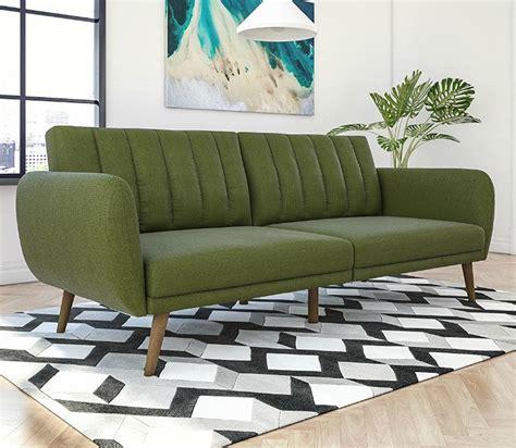 green leather sleeper sofa 1 awesome sleeper sofa green sofas