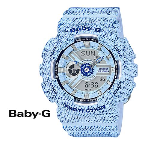 Casio Baby G Ba 110dc 2a2dr Water Resistant 100m Resin Band sugar shop rakuten global market casio casio baby g watches ba 110dc 2 a3jf denim d