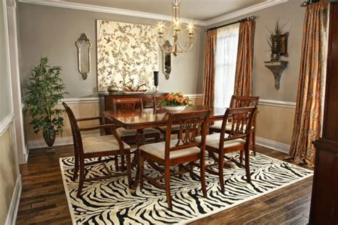 how to choose the area rug for your dining room freshome