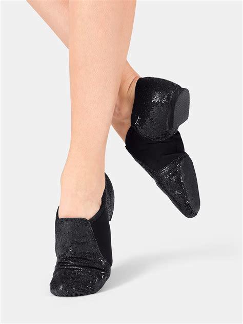 Modern Jazz Shoes free shipping glitter jazz shoe by platinum