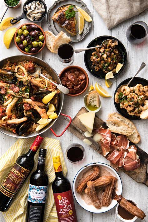 easy dinner course easy tapas recipes recipetin eats