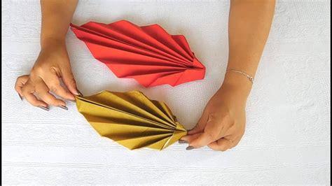 decorar con servilletas doblar servilletas de papel decorar la mesa con