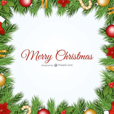 cornici natalizie gratis cornice di natale di vettore scaricare vettori gratis