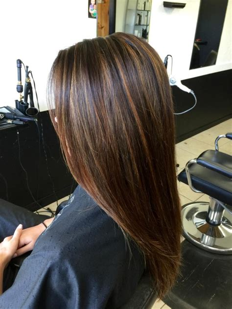long hairstyles with brown hairnwith carmel highlights of 2015 dark brown hair with caramel highlights before and after