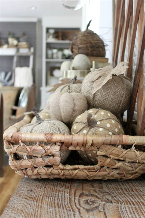 burlap fall decorations my fall entryway an inspired nest