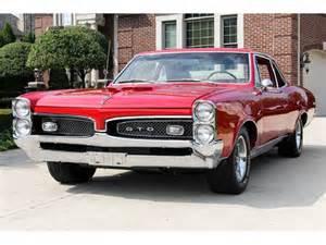 Pontiac Owner 1967 Pontiac Gto Classic Car By Owner In Washington Dc