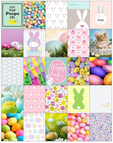 printable easter planner easter planner stickers by junepearlprojects on etsy