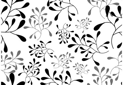 seamless pattern free vector vector leaf seamless pattern download free vector art