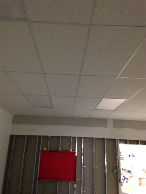 Painting Ceiling Tile Grid by Columbia Contracting Company Commercial And Residential