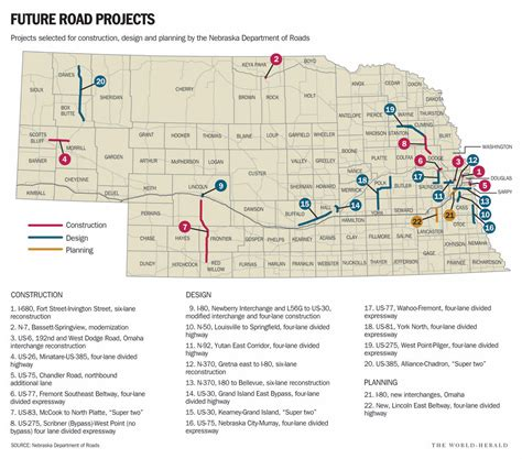 road construction lincoln ne extension of highway 275 expressway improvements to