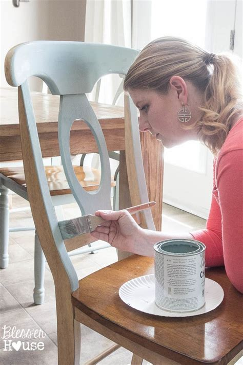 diy chalk paint chair best 25 painted dining chairs ideas on chair