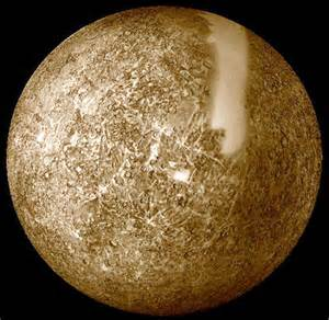 what color is mercury the planet pictures of mercury