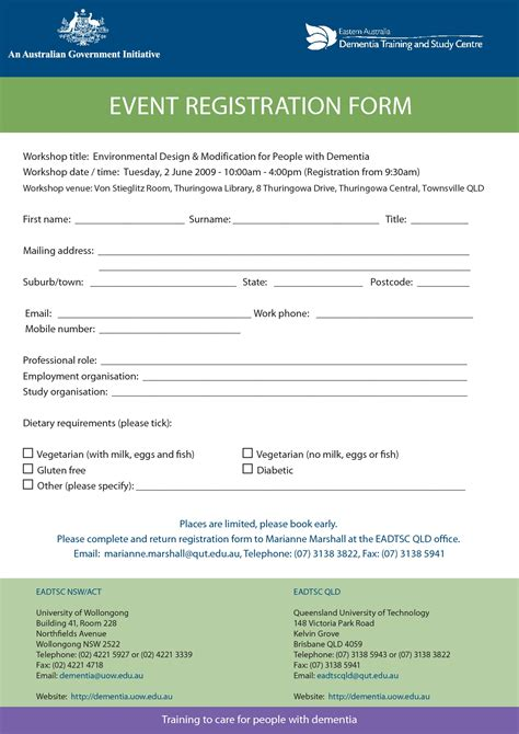 Registration Form Template Tryprodermagenix Org Class Registration Form Template Free