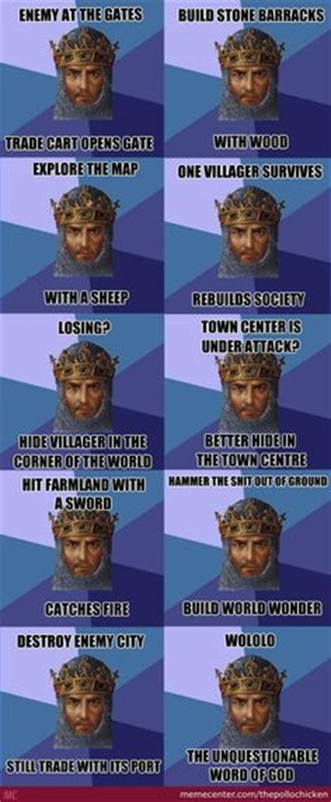 Age Of Empire Meme - farmers never get rest in age of empires humor