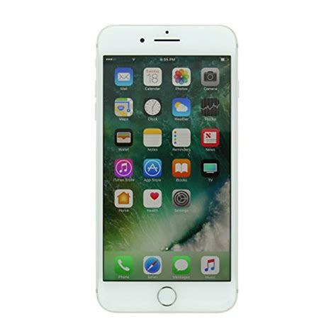 apple iphone   gb factory unlocked gsm smartphone silver certified refurbished