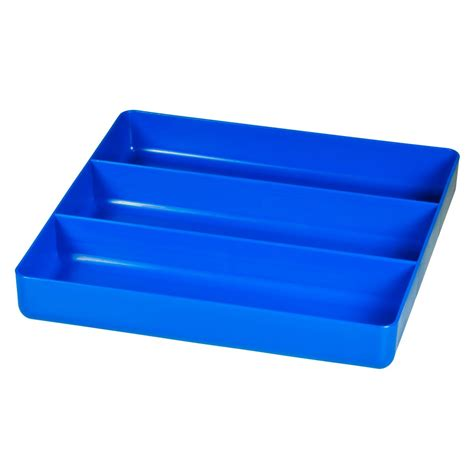 3 compartment drawer organizer 5022 three compartment organizer tray blue 5022