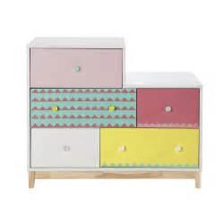 Maison Du Monde Enfant #2: commode-enfant-en-bois-multicolore-l-100-cm-berlingot-1000-15-6-151009_1.jpg
