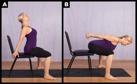 Folding Chair Gentle Chair Yoga For Seniors
