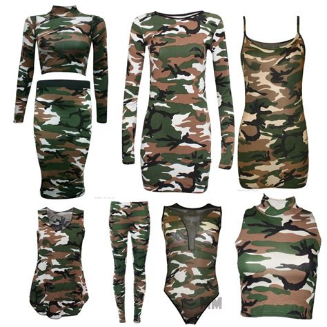 Army Top camouflage army sleeveless vest top