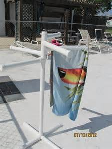 pvc towel holder pvc pool side towel rack for the home