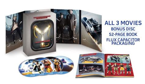 back to the future limited edition flux capacitor back to the future trilogy flux capacitor limited edition 4 disc