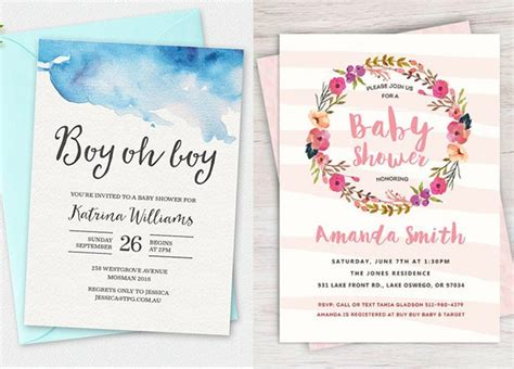 Downloadable Baby Shower Invitations by 100 Stunning Printable Baby Shower Invitations Momooze