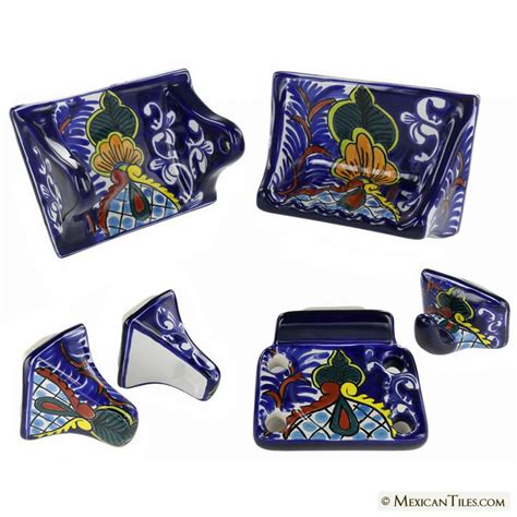 Mexican Tile All Classic Porcelain Bathroom Accessories Mexican Bathroom Accessories