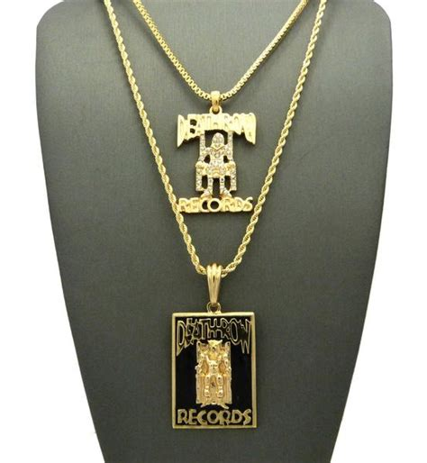 Row Records Pendant Gold Gold Plated Row Records Pendant Datnewice