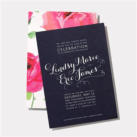 25 creative wedding invitation designs for every style of celebration brides
