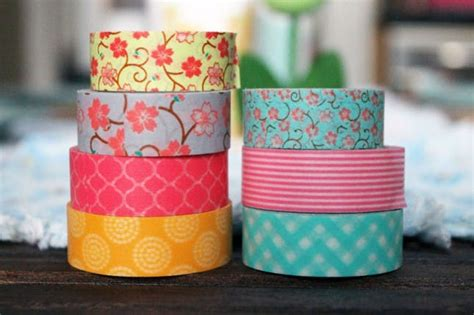 what is washi tape for washi your table 4 quick projects for sunday brunch