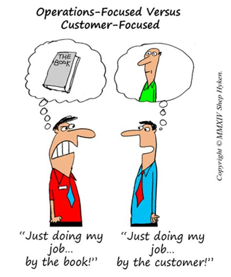 Operations Vs Marketing Mba by Six Differences Between Customer Focused Companies And