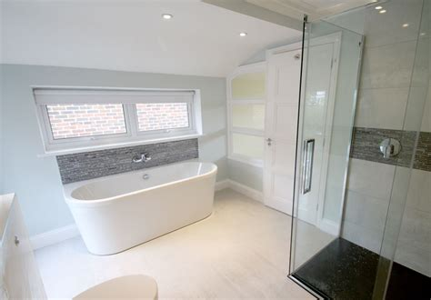 bad teilweise gefliest bathroom fitted in kingston upon thames seal homes