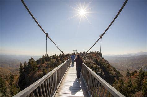 North Carolina S Mile High Swinging Bridge