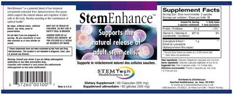 m stem supplement stemtech s dubious claims