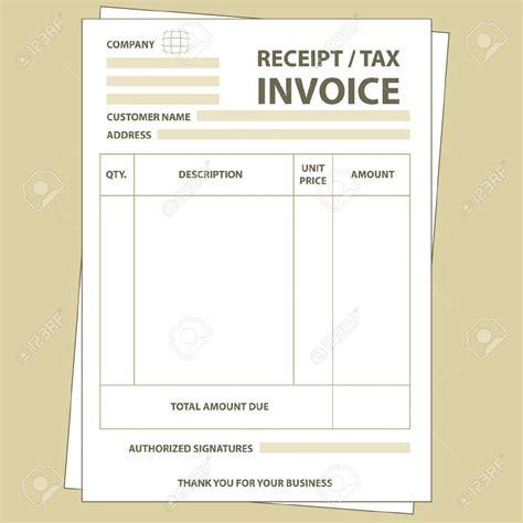 Tax Invoice Receipt Template * Invoice Template Ideas