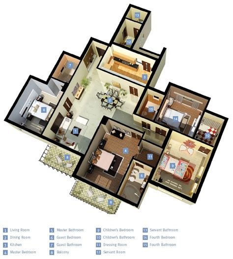 4 bedroom layout 4 bedroom apartment house plans
