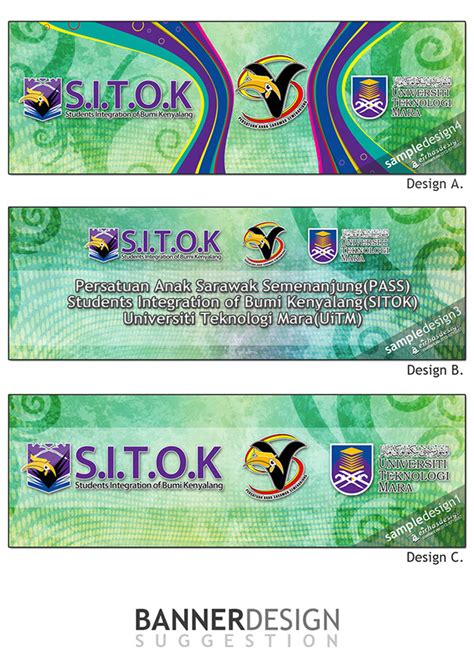 banner design kuching quot s i t o k quot banner and bunting design on behance