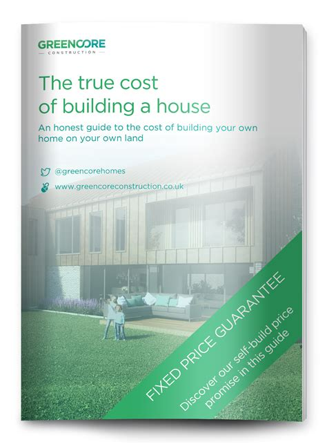 what is the true total cost to build a quality residential greencore self build and custom build homes at