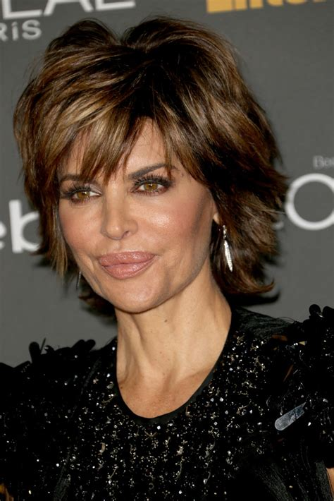how to style lisa rena razor cut style long hairstyles more pics of lisa rinna layered razor cut 1 of 4 short