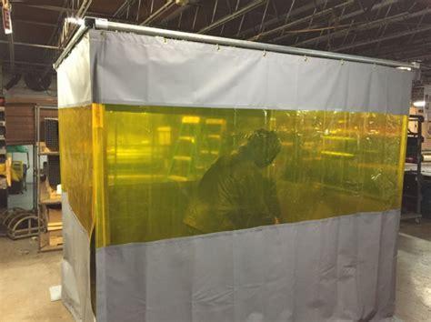 Welding Cells   Grind & Weld Work Enclosure Barrier Systems
