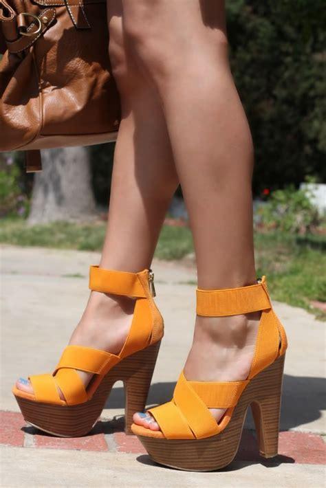 bright orange high heels 25 best ideas about orange high heels on