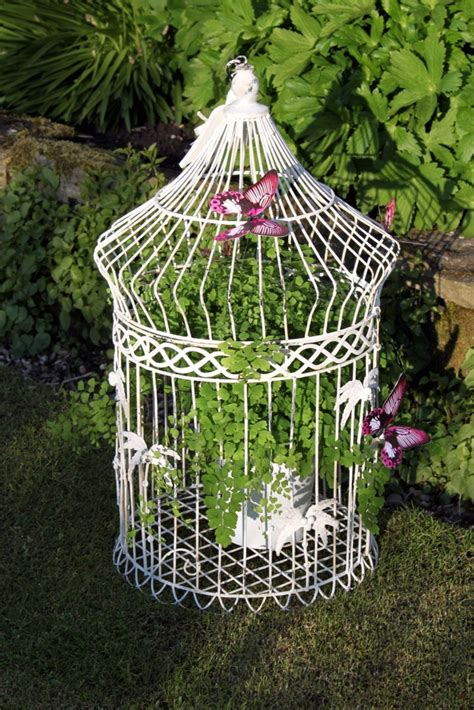 Bird Cage Planters by Bird Cage Planters Diy Projects Decorative And