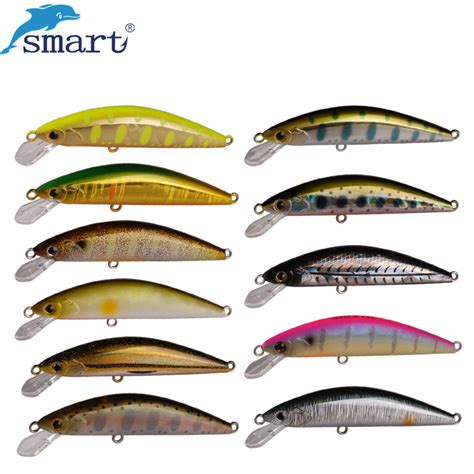 Lure Minnow No Label 65mm smart lure 65mm 5g fishing lures china minnow bait