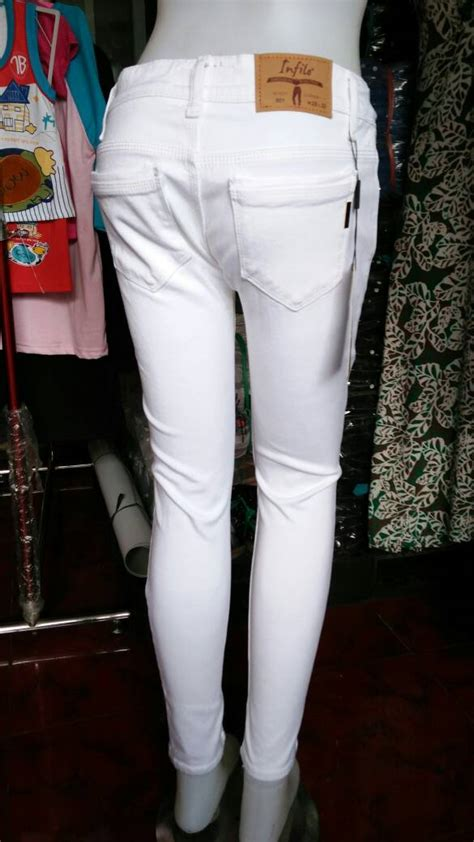 Murah Meriah Celana Dalam Anak Xl White 7 8 Tahun jual celana putih cewek wanita white
