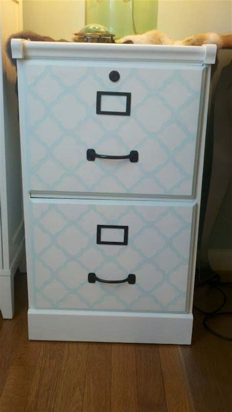 Diy File Cabinet Makeover by Diy Filing Cabinet Makeover Ari