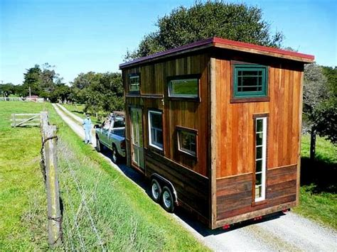 small house on wheels tiny house and the building code