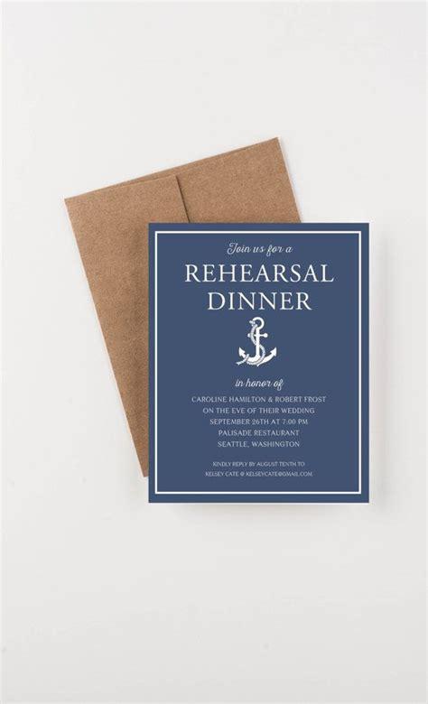 Wedding Rehearsal Invitation Ideas