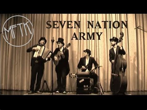in swing version quot seven nation army quot swing version musik for the